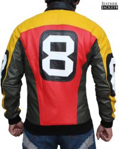 Mens Bomber 8 Ball Jacket