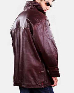 michigan casual leather jacket