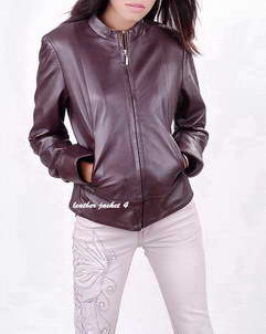Missoula clo leather jacket