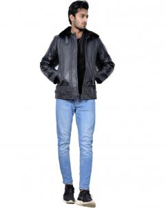 New York Shearling Leather Jacket