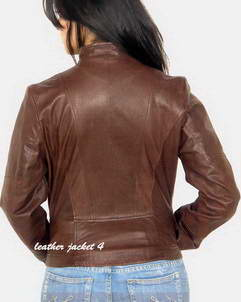 next women leather jacket