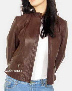Next next women leather jacket