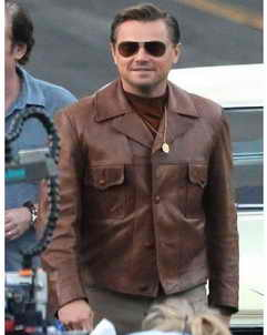 Leonardo Once Upon A Time in Hollywood Leonardo DiCaprio Jacket
