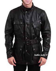Panther-Black leather jacket