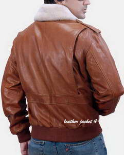 pilot leather jacket