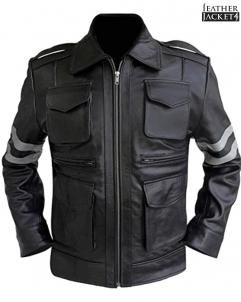 Leon-Kennedy Resident Evil 6 Leon Kennedy Leather Jacket