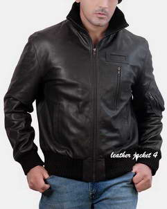 Rolph Rolph Leather Bomber Jacket