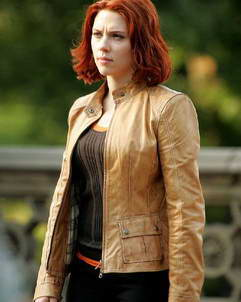 Scarlett Johansson The Avengers Jacket