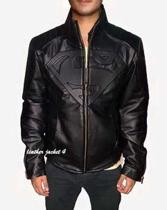 Superman Superman leather jacket