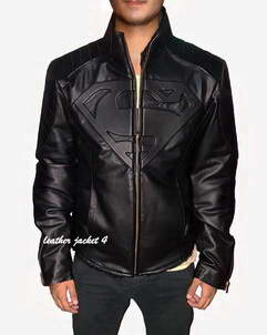 Superman-Jacket Superman artificial leather