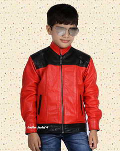 Biker jacket for teenage boys