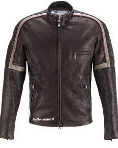 Hero bison hero leather jacket