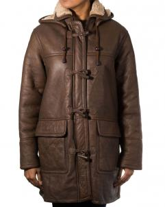 Women-Ginger Women Brown And Ginger Coat