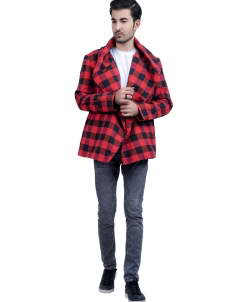 Blazer-Men Unisex Blazer Style Plaid Jacket