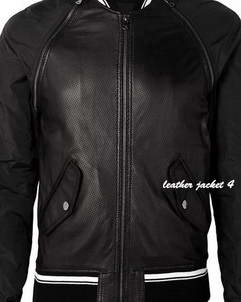 Vermont Perforated Leather Jacket