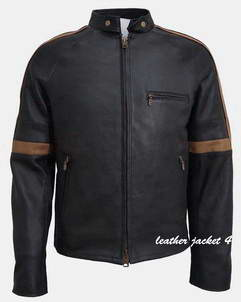Hero-Black hero leather jacket