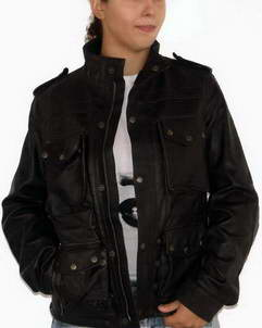 Witchita Hand waxed leather jacket