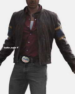 Wolverine wolverine leather jacket