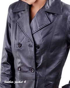 3d525fc6c Womens Leather Long Coat