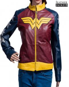Gal-Gadot Wonder Woman Leather Jacket