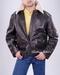 Alpha Flight Leather Jacket