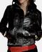 Zip Front Lambskin Leather Jacket