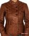 Zip-Through Leather Jacket