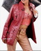 Leather Long Jacket for Women