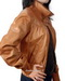 Womens Bomber Leather Jacket