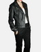 Biker Leather Jacket for womens