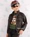 Toddler leather jacket