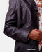 Leather Blazer for Mens