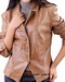 Lamb Leather Women Blazer