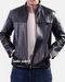 Zip-through Leather Jacket