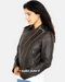 Women Leather Moto Jacket
