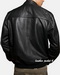 Mens leather jacket in lamb leather