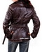 Trench Leather Coat