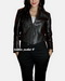 Women Short Leather Jacket
