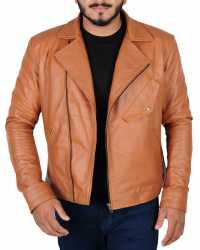 Real Ethan-Wate Alden Ehrenreich Beautiful Creatures Leather Jacket
