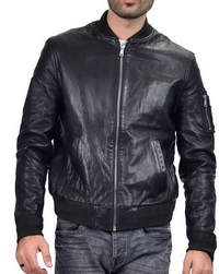 Black-Bomber Black Bomber Mens Jacket