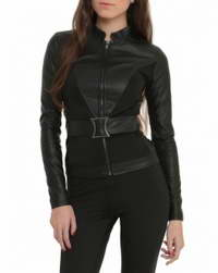 Black-Widow Avengers Age Of Ultron Black Widow Jacket