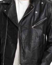 Real Christian-Grey Christian Grey Fifty Shades Of Grey Leather Jacket