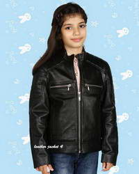 Real Girls Girls Biker Jacket