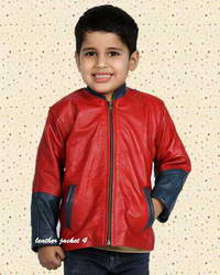 Kiddo Kiddo Jacket in real lamb leather