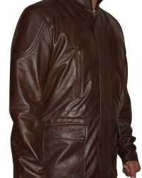 Real Liam-Neeson Liam Neeson Run All Night Brown Leather Jacket