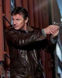 Liam-Neeson Liam Neeson Run All Night Brown Leather Jacket