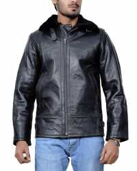 New-York New York Shearling Leather Jacket