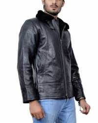 Real New-York New York Shearling Leather Jacket