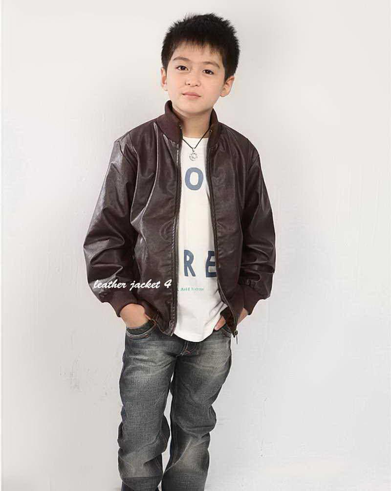 45c0a0ee1 Boy Leather Jacket