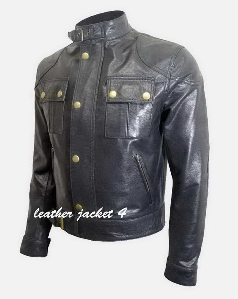 Cougar leather jacket